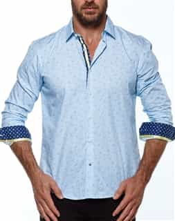 Men Sport Shirt - Blue