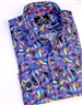 Multicolored Leaf Print Shirt