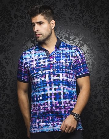 Sporty Polo - Irving Turquoise Multi