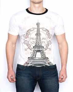 Isaac B  | celebrytees Eiffel Tower T-Shirt