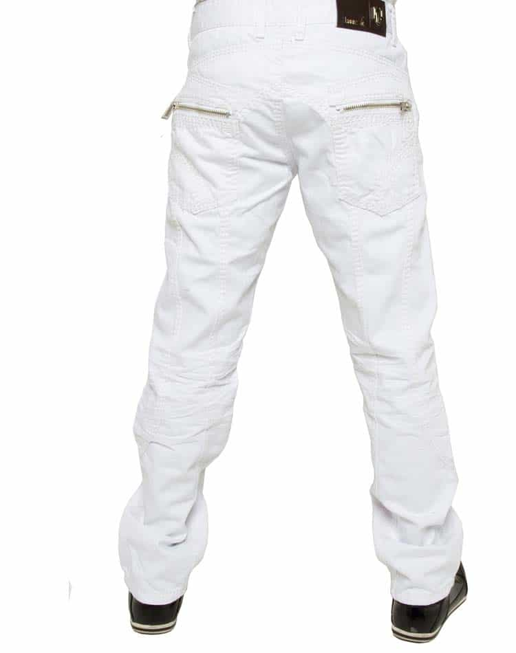 White Jeans- Isaac B Designer Jeans 31