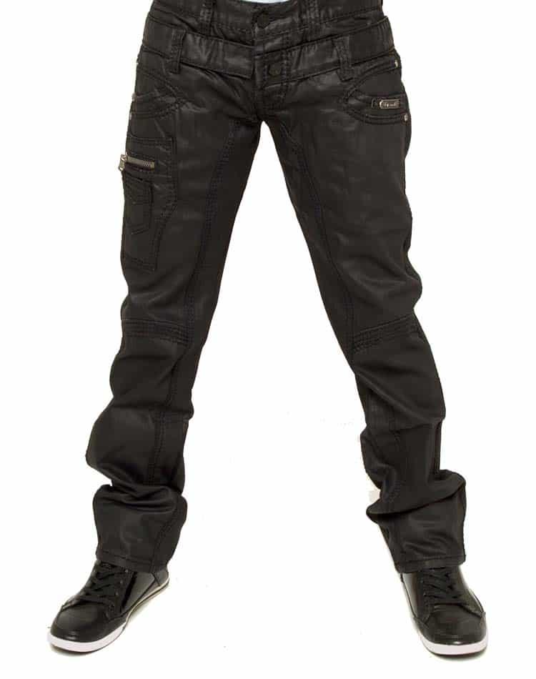 black jeans- Isaac B 047 black
