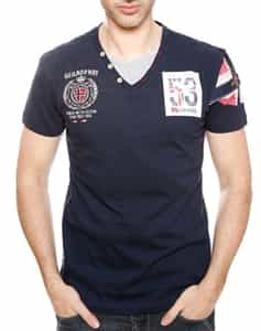 Geographical Norway | Norway 53 Navy Shirt
