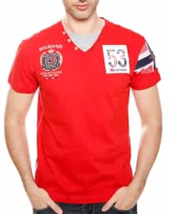 Geographical Norway | Norway 55 Red Shirt