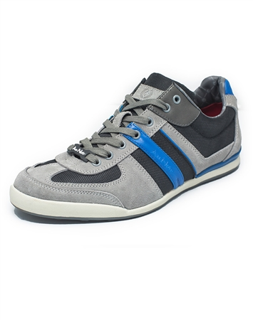 European Fashion Sneakers in Blue Grey