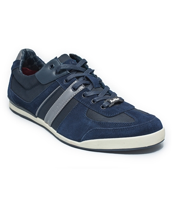 European Fashion Sneakers in Navy