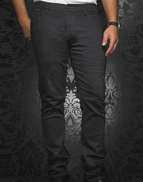 Fashionable Black Slim Jeans