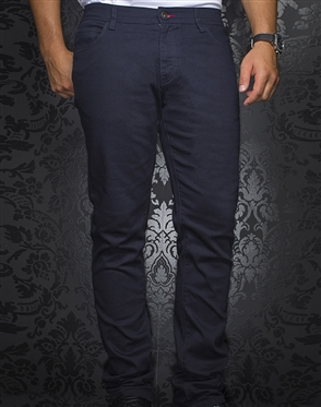 Fashionable NavySlim Jeans