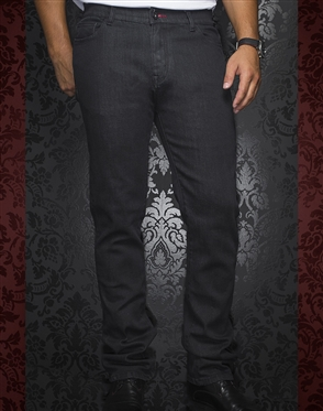 Designer Black Jeans - Johnny T Monaco