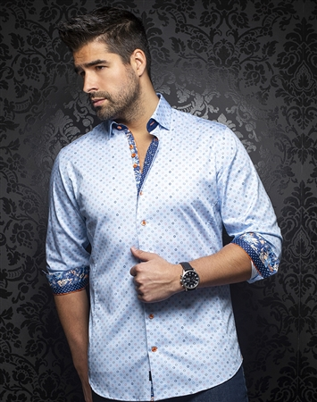 Au Noir Shirt juliano-light-blue
