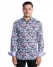 Luxury Dress Shirt - Brilliant Purple Floral Dress Shirt