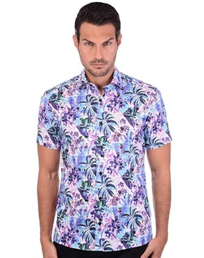 Floral Multi Colored Summer Shirt