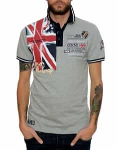 Geographical Norway UK Legend Grey