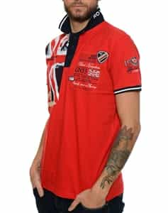 Geographical Norway UK Legend Red