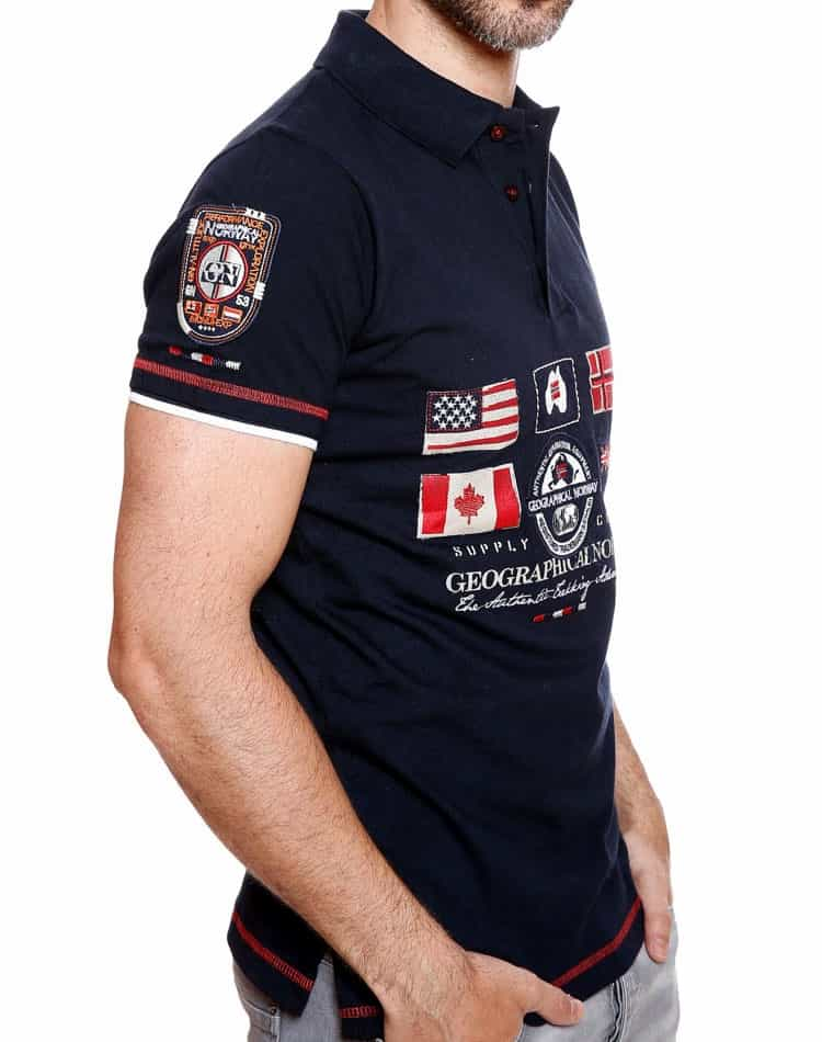 7b142708b00 Geographical Norway Polo Expedition Navy
