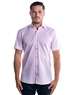 Luxury Short Sleeve Woven - Pink Dress Shirt