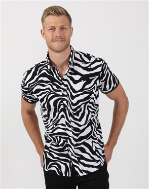 Black And White  Designer Shirt