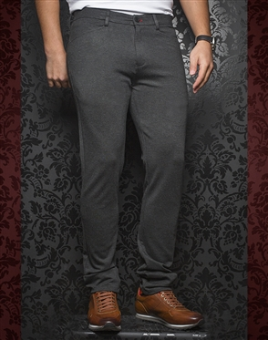 Designer Gray Pants - Magnum Charcoal