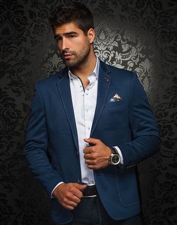 Luxury Sport Coat | Royal Blue Blazer
