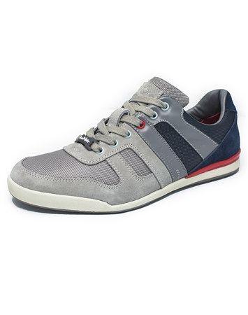 Modern Men's Grey Sneakers