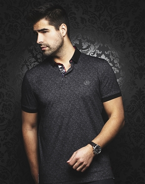 Au Noir Polo | Mayfield Black