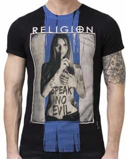 Speak No Evil Black T-Shirt