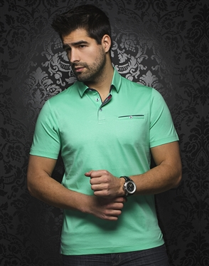 Au Noir Polo | Mercury Mint