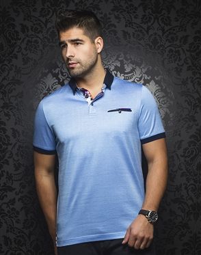 Sporty Polo - Messina Light Blue