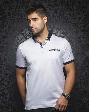 Sporty Polo - Messina White