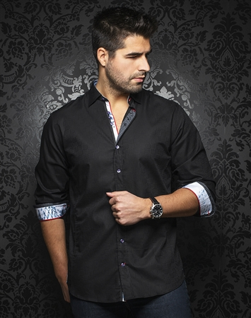 Au Noir Shirt milan-black