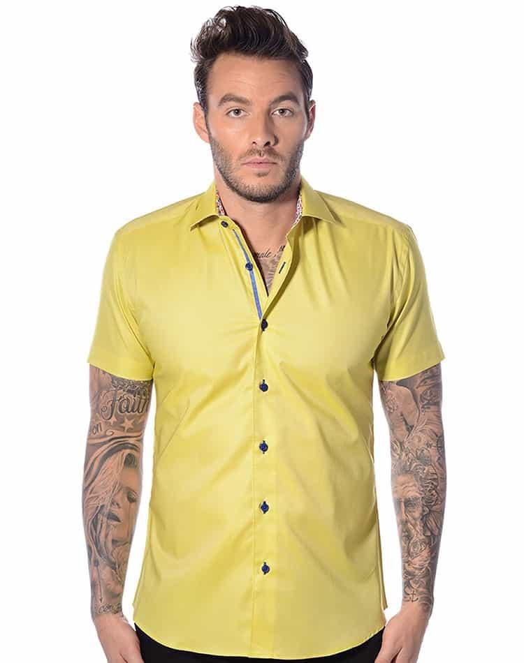 Short Sleeve Summer Dress Shirt