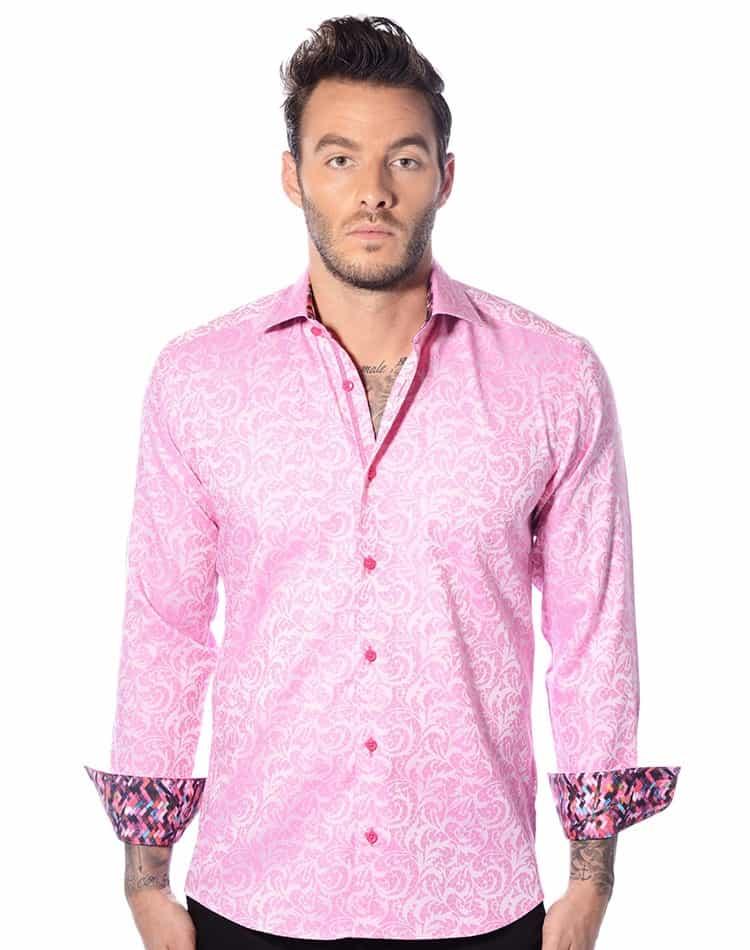 Pink Paisley Dresses
