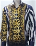 European Animal Print Shirt