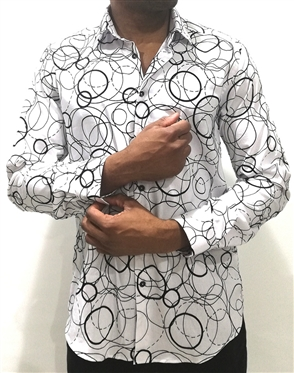 Stylish Modern-Retro Dress Shirt