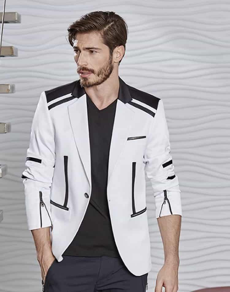 Shop Men: White Sport Coat | Men Limited Edition Edition White ...