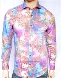 Mondo Paisley Print Dress Shirt