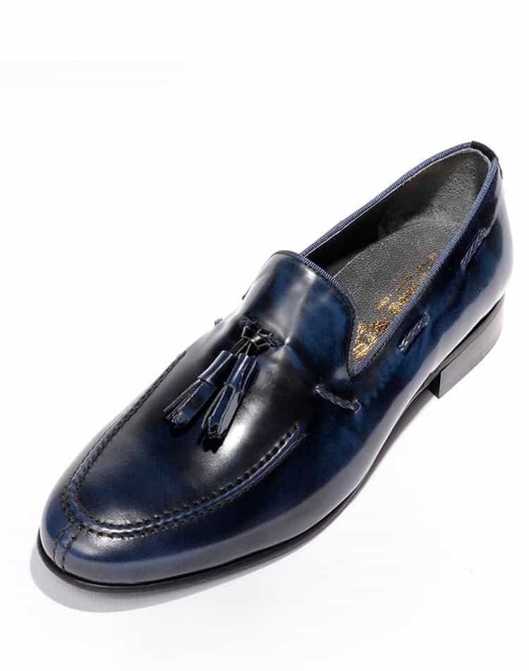 7b4b07a7202 Black and Navy Dress Shoe