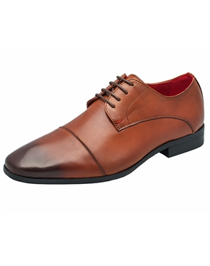 Luxury Cognac Brown Dress Shoes