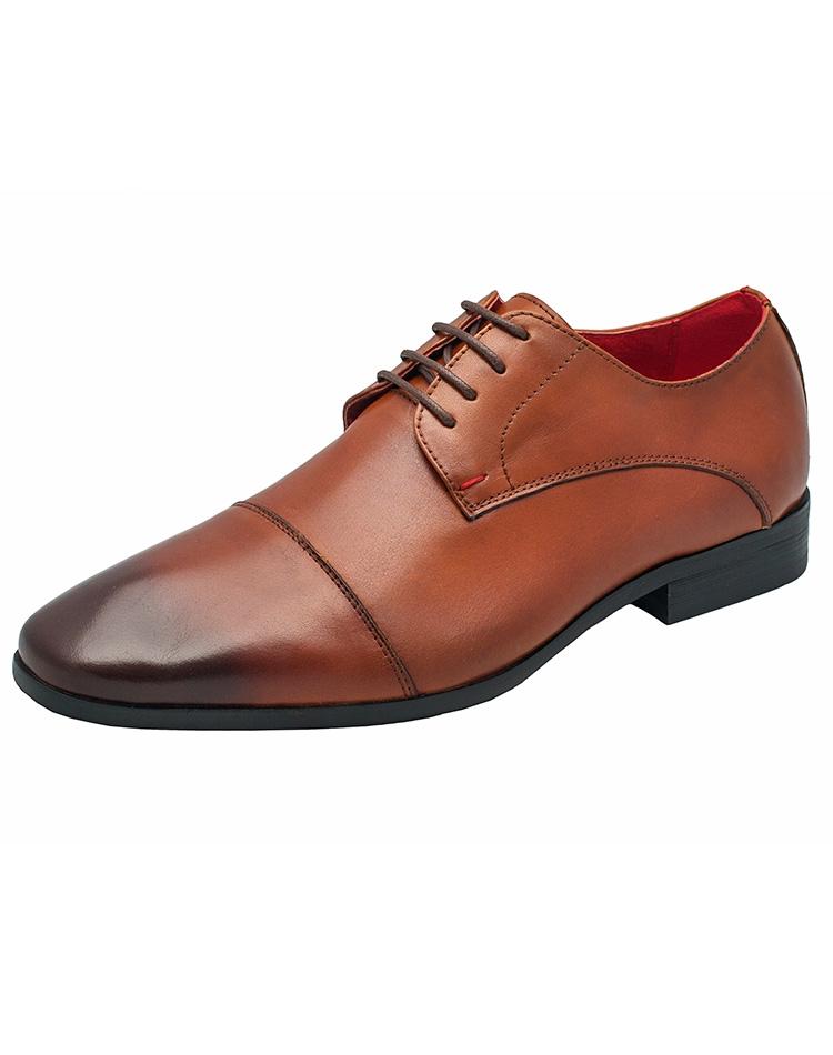 Luxury Cognac Brown Dress Shoes   Brown