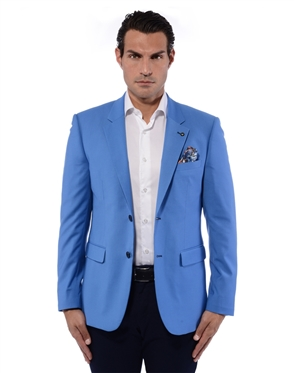 Luxury Blue Blazer