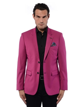 Fashionable Pink Blazer