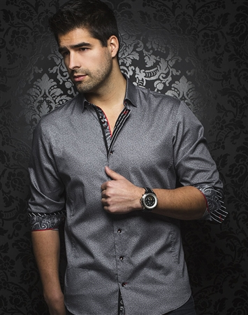 Luxury Black Dress Shirt