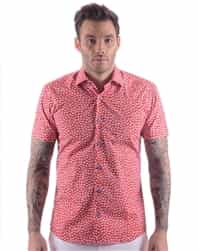 fashion Shirt: Fashion Short Sleeve Shirt | Elegant Woven