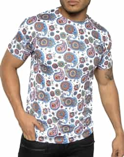 Luxury T-Shirt: Next level Couture Luxury Paisley T- Shirt
