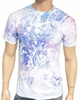 Men Artistic Luxury Printed Shirt R301