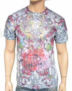 Men Artistic Luxury Printed Shirt R302