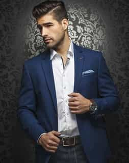 Luxury Royal Blue Blazer
