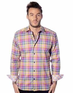 Plaid Shirt Plaid Casual Designer Shirt