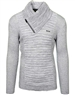 Light grey Men's knit sweater