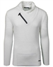 White Men's fashion knit sweater